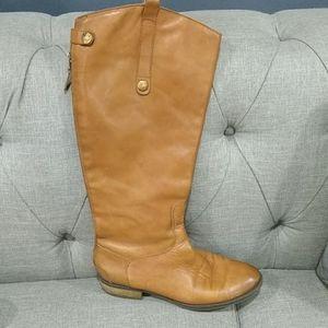 Sam Edelman penny tan boots size 7